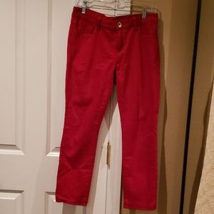 Banana Republic Red Jeans